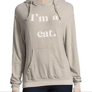 Wildfox - I'm a cat- Hoodie w/ Ears (XS)